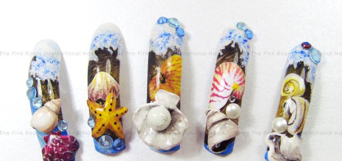 Trainer Nail Art #pinkroomnails