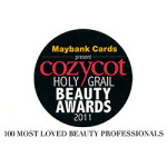 cozycot holygrail beauty awards 2011 presented by maybank