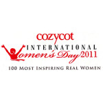 Nominated by Cozycot as part of International Women's Day 2011 - 100 Most Inspiring Real Women