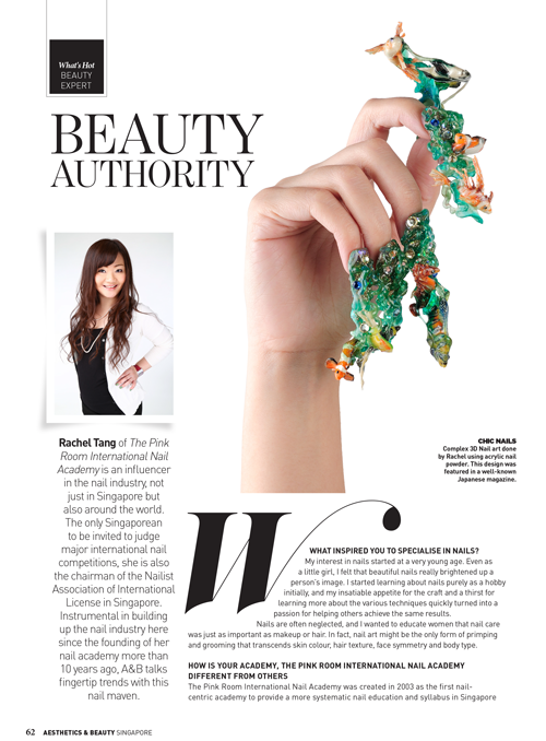Aesthetics & Beauty Singapore Issue: February – April 2015